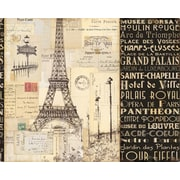Magic Slice Paris Collage Plastic Cutting Board