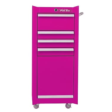 The Original Pink Box 16''W 4-Drawer Tool Chest