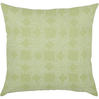 Rizzy Home Decorative Throw Pillow; Sage Green