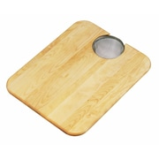 Elkay 19'' x 15'' Hardwood Cutting Board and Strainer