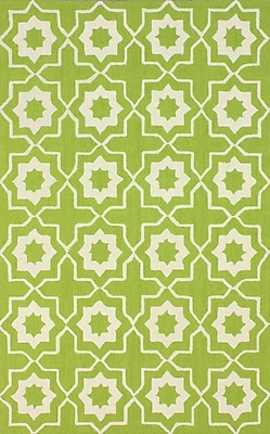 nuLOOM Serendipity Green Super Bold Area Rug; 7'6'' x 9'6''