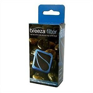 Brondell Breeza Deodorizing Replacement Carbon Filter; Single Cartridge WYF078276249112