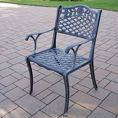 Oakland Living Tea Rose Patio Dining Chair