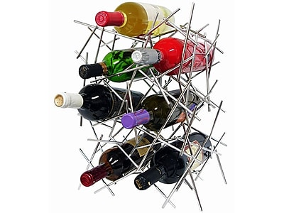 Epicureanist 7 Bottle Tabletop Wine Rack WYF078276727671