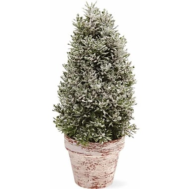 Boston International 10'' Topiary in Pot Home Accent