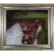 Tori Home The Swamp by Klimt Framed Hand Painted Oil on Canvas