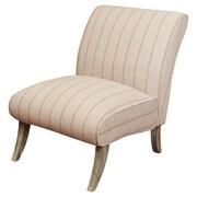 Home Loft Concepts Marquise Linen Slipper Chair