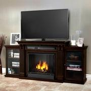 Real Flame Calie 67'' TV Stand; Dark Walnut