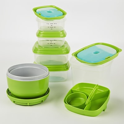 Fit & Fresh Fresh Selects 6 Container Food Storage Set WYF078277455117