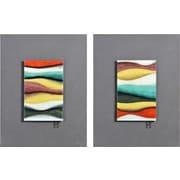 Ren-Wil 2 Piece Rainbow Rhodes Painting Print Set
