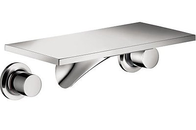 Axor Axor Massaud Two Handle Wall Mounted Tub Only Faucet