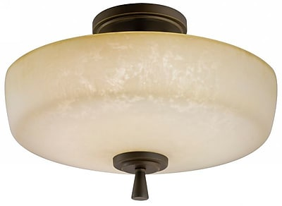 Lithonia Lighting Ferros 1-Light Semi Flush Mount