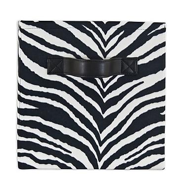 Brite Ideas Living Zebra Storage Bin