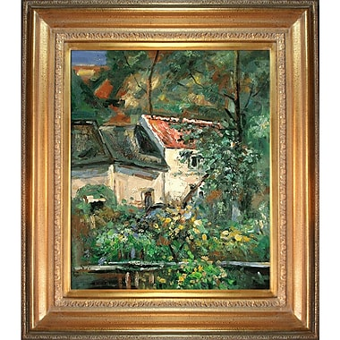 Tori Home House of Piere La Croix by Paul Cezanne Framed Painting