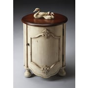 Butler Kiley End Table; Vanilla