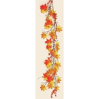 Worth Imports Fall Leaf/Berry Garland
