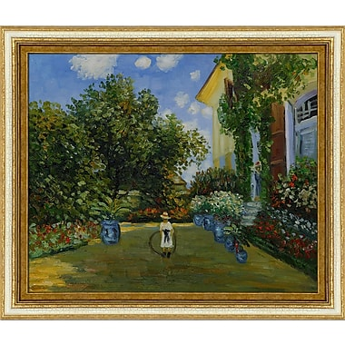 Wildon Home La Casa Della Artista by Claude Monet Framed Painting