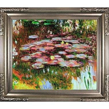 Tori Home Water Lilies by Claude Monet Oil Painting Print on Canvas