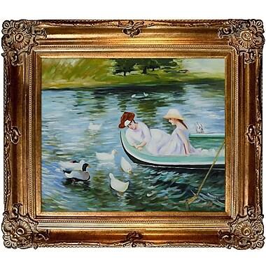 Tori Home Cassatt Summertime Canvas Art
