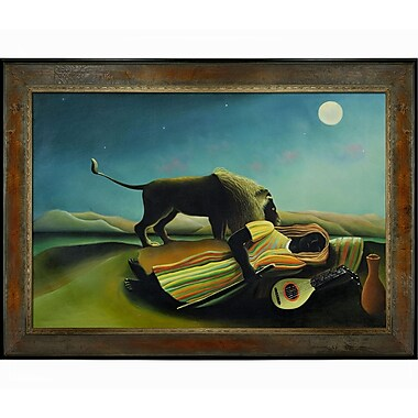 Tori Home Rousseau The Sleeping Gypsy Framed Painting