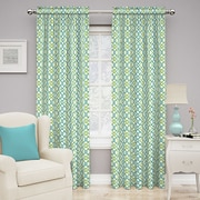 Traditions by Waverly Make Waves Single Curtain Panel; Capri