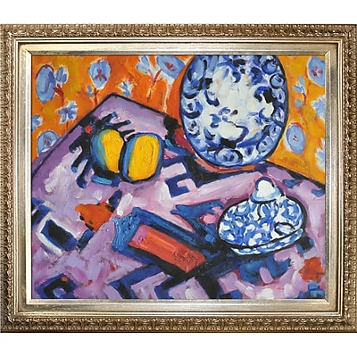 Tori Home Fauve Still Life by Alfred Henry Maurer Framed Painting Print