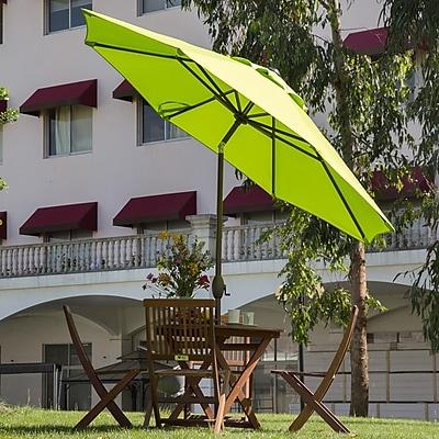Abba Patio 9' Market Umbrella; Green WYF078278353477