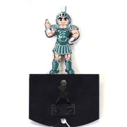 HensonMetalWorks Michigan State University Mascot Wall Mounted Coat Hook