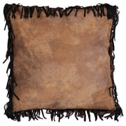 Carstens Inc. Brown Mustang Euro Pillow Cover