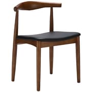 Edgemod Keren Solid Wood Dining Chair (Set of 2); Walnut