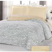 Glory Home Design Borrego Luxurious 3 Ply Embossed Blanket