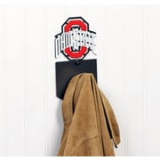 HensonMetalWorks NCAA Wall Mounted Coat Hook; Ohio State University