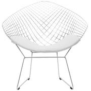 Edgemod Morph Papasan Chair; White