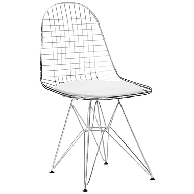 Edgemod Hamlet Side Chair (Set of 2); White