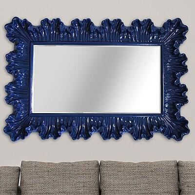 Stratton Home Decor Elegant Ornate Wall Mirror WYF078278355656