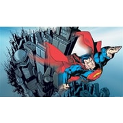 Room Mates Surestrip Superman Chair Rail Prepasted 10.5' x 72'' Wall Mural
