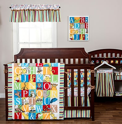 Trend Lab Dr. Seuss Alphabet Seuss 82'''' Curtain Valance