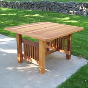 WoodCountry Cabbage Hill Dining Table; Unstained