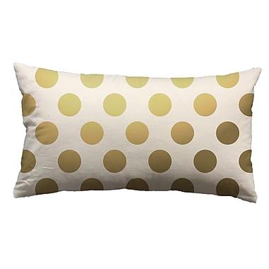 Westex Urban Loft Foil Large Dots Throw Pillow