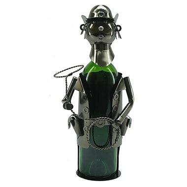 Wine Bodies Cowboy 1 Bottle Tabletop Wine Rack
