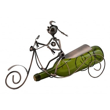 Three Star Scooter 1 Bottle Tabletop Wine Rack