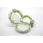 Three Star Iris 16 Piece Dinnerware Set