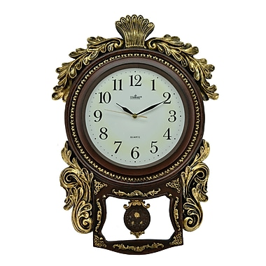 Three Star Pendulum Wall Clock
