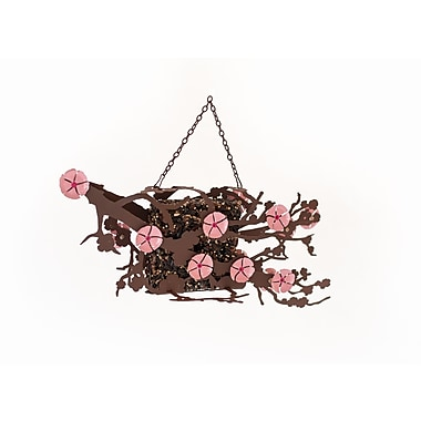 Desert Steel Cherry Blossom Window Decorative Bird Feeder