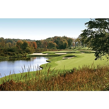 Wallhogs Autumn Golf Wall Mural; 16'' H x 24'' W