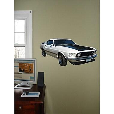 Wallhogs Mustang Fastback Cutout Wall Decal; 12'' H x 24'' W