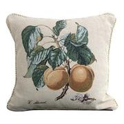 DaDa Bedding Apricot Woven Pillow Cover
