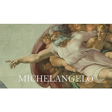 Wallhogs Sim Michelangelo God Poster Wall Mural; 20.5'' H x 36'' W