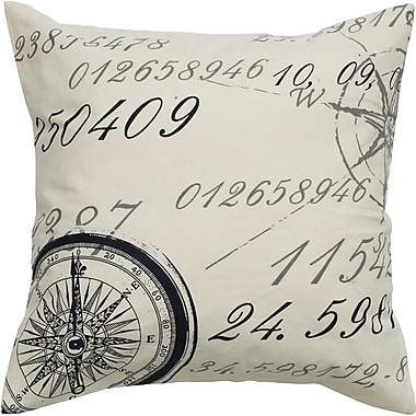 Wildon Home Number Cotton Throw Pillow