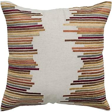 Wildon Home Cherrylin Embroidered Throw Pillow